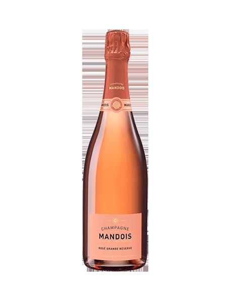 Champagne Mandois Brut Rosé Grande Réserve