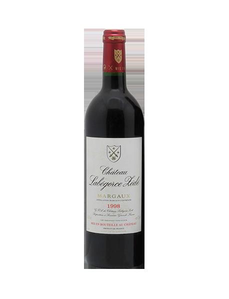 Château Labégorce Zédé Margaux Cru Bourgeois Rouge 1998 Double-Magnum 3 litres