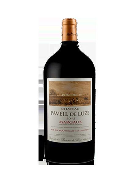 Château Paveil de Luze Margaux Rouge 2012 Double-Magnum 3 litres - Caisse Bois d'origine