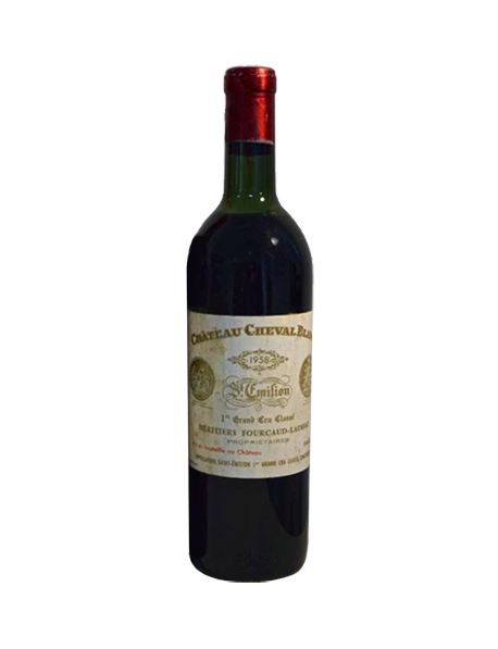 Château Cheval Blanc Saint-Emilion 1er Grand Cru Classé A 1958