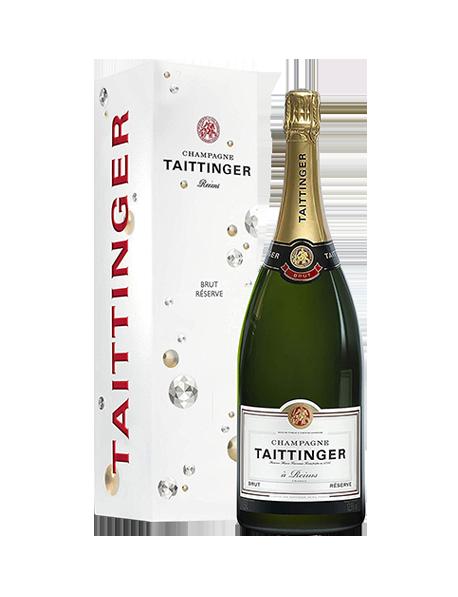 Champagne Taittinger Brut Réserve Magnum - Avec étui