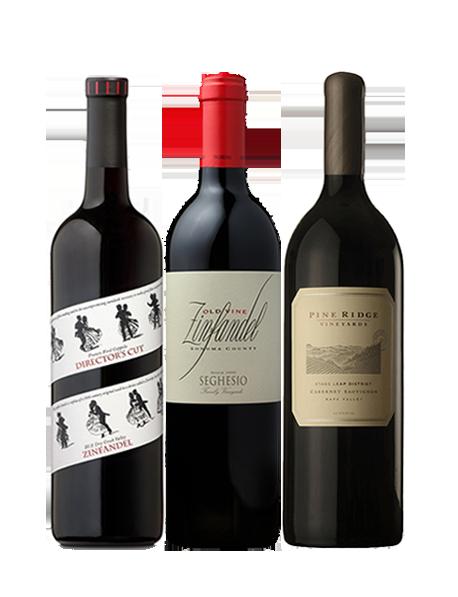 Coffret vin rouge USA Prestige 3 bouteilles