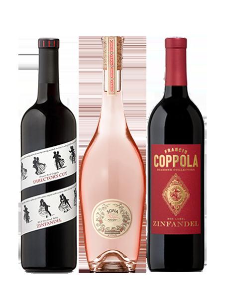 Coffret vin Francis Ford Coppola 3 bouteilles