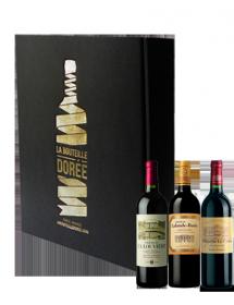 Coffret Vin rouge Bordeaux Médoc Sélection 3 bouteilles