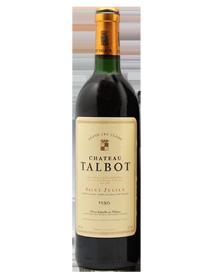 Château Talbot Saint-Julien 4ème Grand Cru Classé 1986