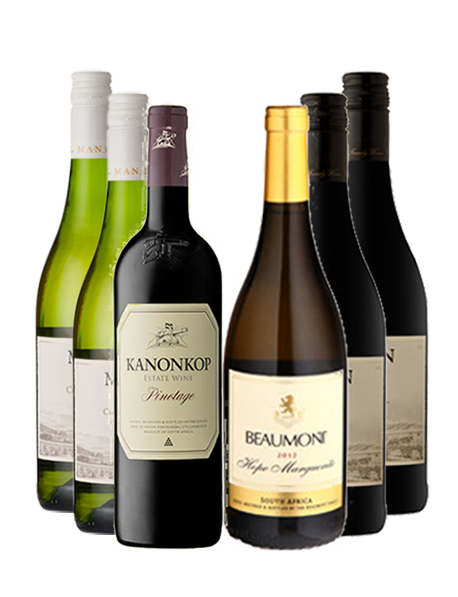Coffret vin Afrique du Sud 6 bouteilles