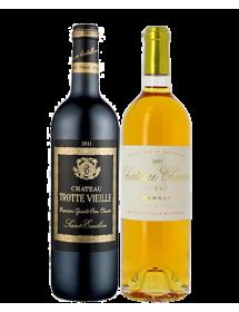 Coffret vin Bordeaux Grands Crus Classés 2 bouteilles