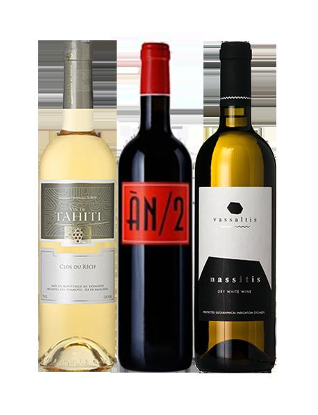 Coffret vin des îles 3 bouteilles