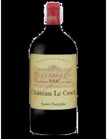 Château Le Crock Saint-Estèphe Rouge Double-Magnum - Caisse Bois d'origine
