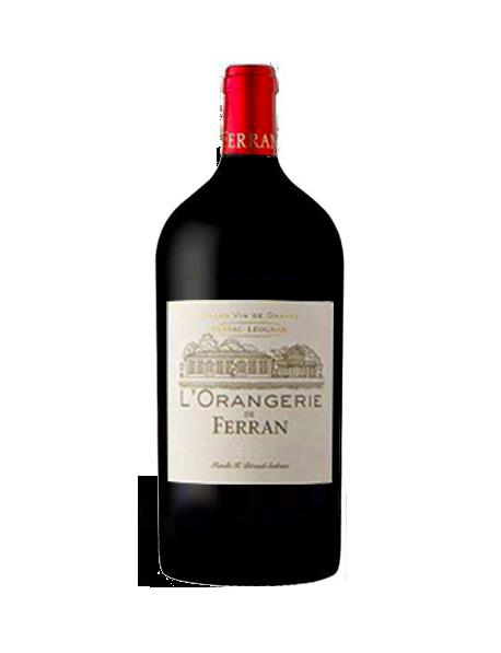 L'Orangerie de Ferran Pessac-Léognan Rouge 2010 Double-Magnum 3 litres