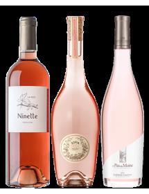 Coffret vin rosé Passion 3 bouteilles
