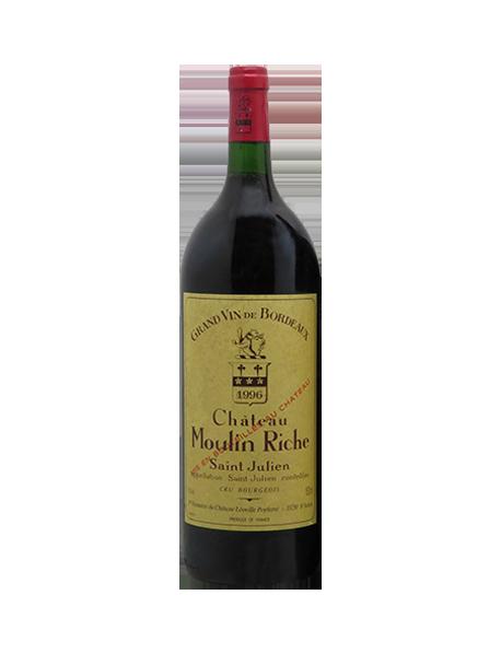 Château Moulin Riche Saint-Julien Rouge 1996 Magnum