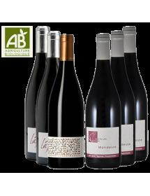 Coffret vin Mondeuse Savoie 6 bouteilles AB
