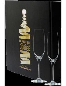 Coffret de deux flûtes à Champagne