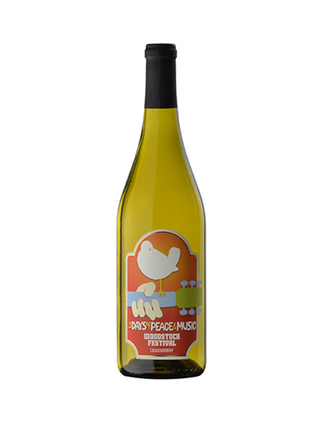 Wines that Rock Woodstock Chardonnay Mendocino County USA Blanc 2012