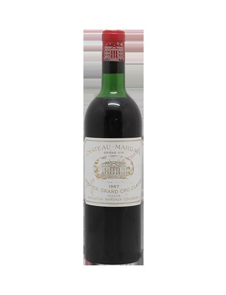Magnum Château Margaux Margaux 1er Grand Cru Classé 1967