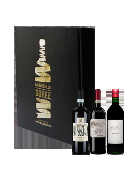 Coffret vin Italie Sélection 3 bouteilles