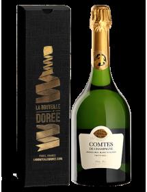 Champagne Taittinger Comtes de Champagne Blanc de blancs 2007 - Avec étui cadeau