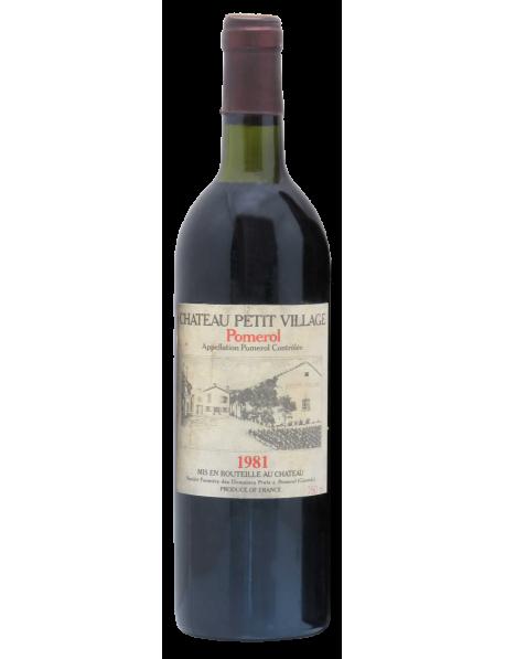 Château Petit-Village Pomerol 1981