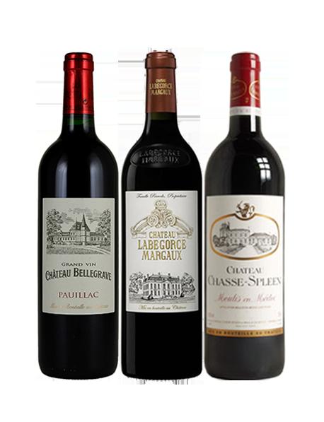 Coffret vin Bordeaux Crus Bourgeois Passion 3 bouteilles