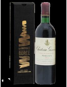 Coffret vin Anniversaire 50 ans Margaux Château Giscours