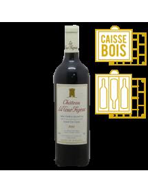 Château La Tour Figeac Saint-Emilion Grand Cru Classé 2001 Magnum - Caisse Bois de 3 bouteilles