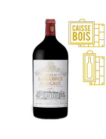 Château Labégorce Margaux Cru Bourgeois Rouge 2001 Double-Magnum 3 litres - Caisse Bois d'origine