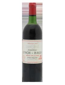 Château Lynch-Bages Pauillac 5ème Grand Cru Classé Rouge 1981
