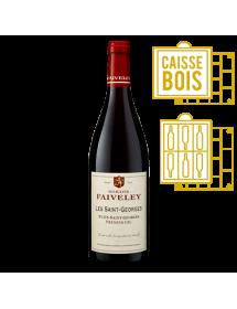 Domaine Faiveley Nuits-Saint-Georges 1er Cru Les Saint-Georges 2011 - Caisse Bois d'origine de 6 bouteilles