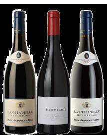 Coffret vin Hermitage Rouge 3 bouteilles