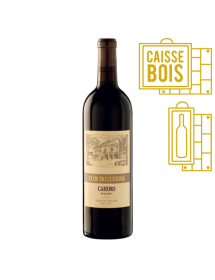Clos Triguedina Cahors 1981 - Coffret Bois 1 bouteille