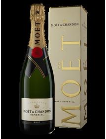 Champagne Moët et Chandon Brut Impérial - Avec étui