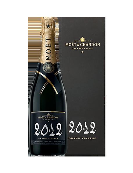 Champagne Moët et Chandon Grand Vintage 2012 - Avec étui