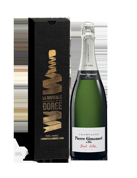 Champagne Gimonnet Brut Extra Blanc de blancs - Avec étui