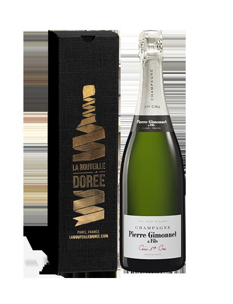 Champagne Gimonnet Cuis 1er Cru Blanc de blancs - Avec étui