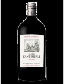 Château Cantemerle Haut-Médoc 5ème Grand Cru Classé 2016 Double-Magnum 3 litres - Caisse Bois d'origine