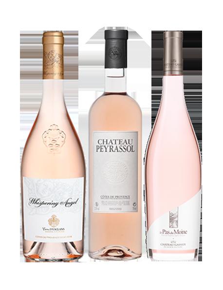 Coffret vin Côtes-de-Provence rosé 3 bouteilles