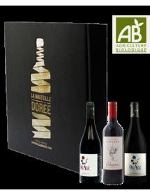 Coffret Vin Rouge Cépages Rares Sélection 3 bouteilles