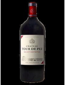 Château Tour de Pez Saint-Estèphe Cru Bourgeois 2016 Double-Magnum 3 litres - Caisse Bois d'origine