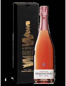 Champagne BrimoncourtRosé - Avec étui