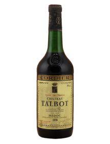 Château Talbot Saint-Julien 4ème Grand Cru Classé 1970