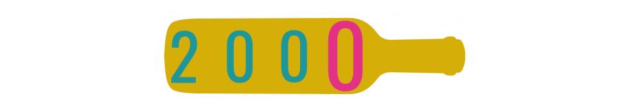VIN 2000 - Offrir une bouteille de 2000, grand cru 2000, bordeaux 2000