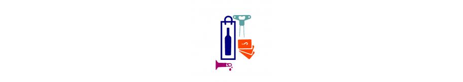 Coffret vin anniversaire avec tire bouchon bilame et quizz vin, livraison en 24h