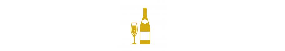 Créez votre coffret cadeau Champagne- LA BOUTEILLE DORÉE