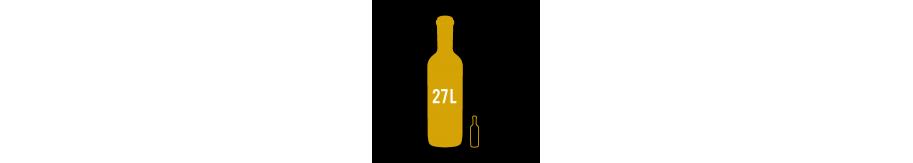 Primat de vin, bouteille de 27 litres : vente vin en ligne