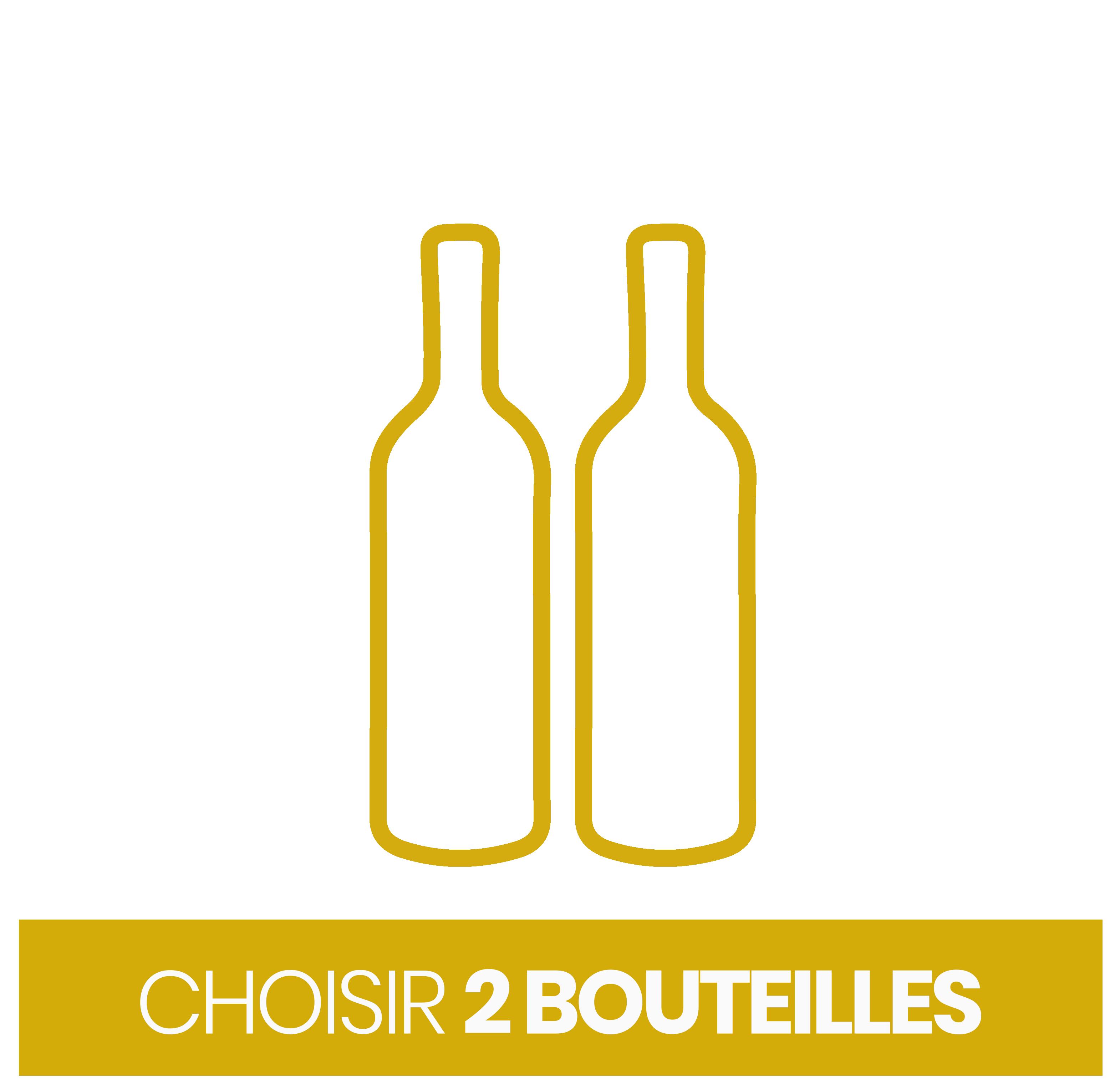 Choisir 2 bouteilles