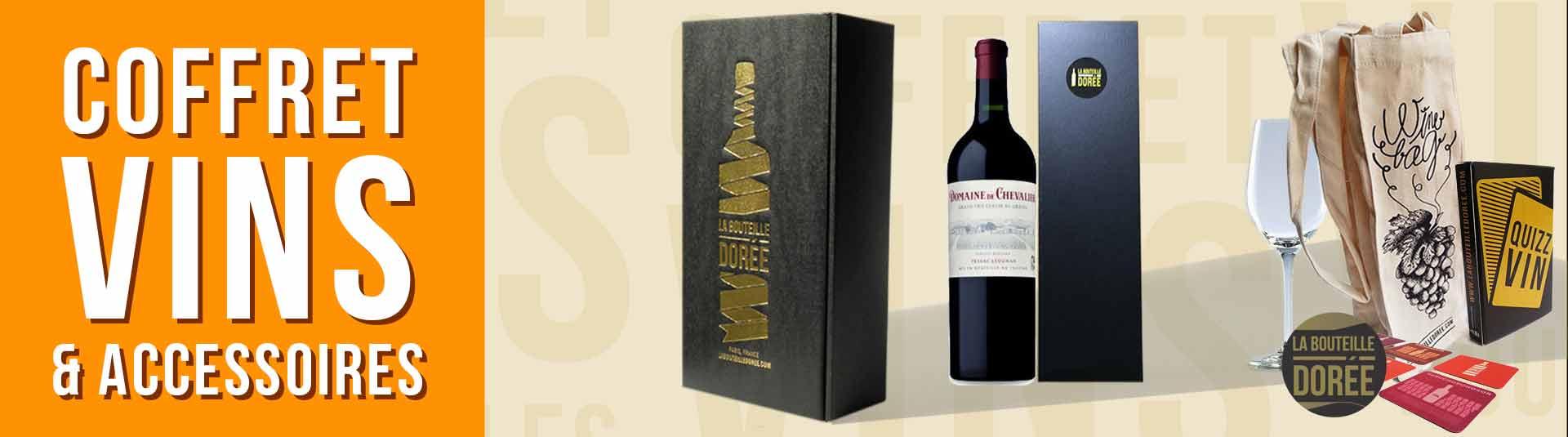 coffret vin 1981 avec accessoires