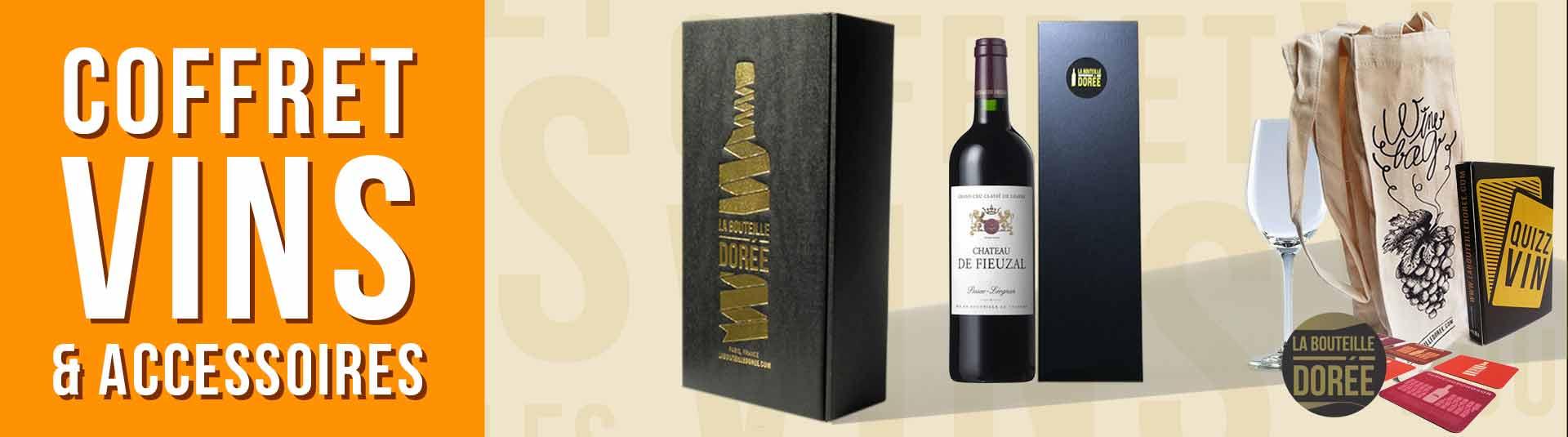 coffret vin 1983 avec accessoires
