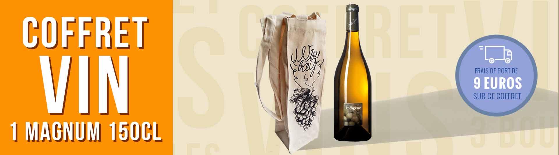 Coffret cadeau vin 1 Magnum Loire Pouilly-Fumé