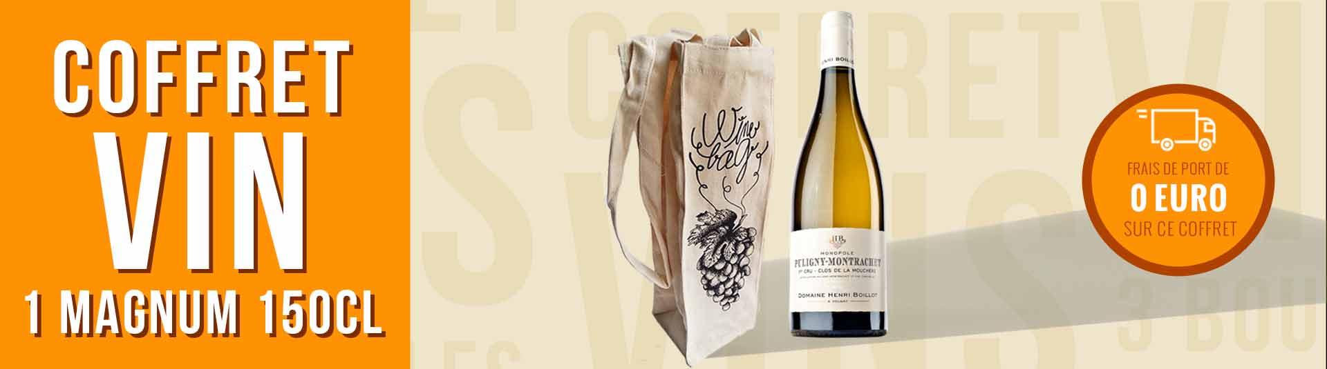 Coffret Magnum Bourgogne Blanc Puligny-Montrachet 1er Cru